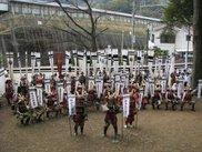 土肥祭・武者パレード