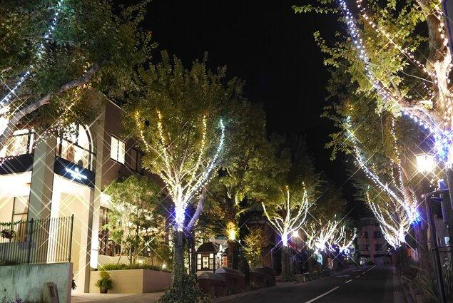 北野クリスマスストリート2018