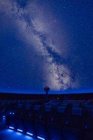 プラネタリウム夜間特別投影「石っこ賢さんと星空散歩」