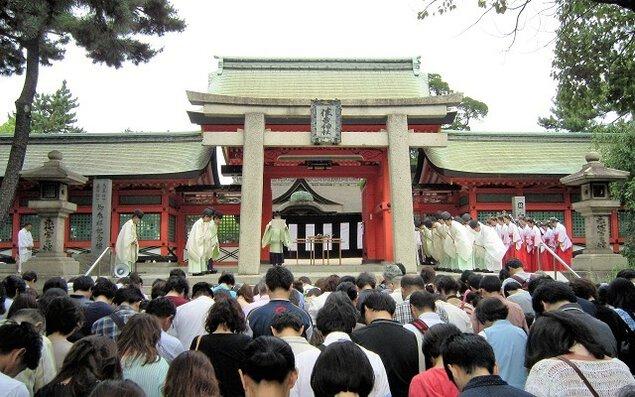 住吉大社 六月大祓式