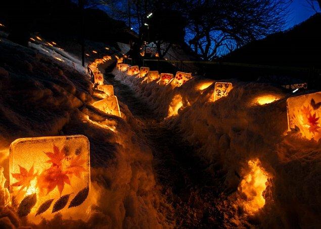 第18回(2018年)「信州木曽ふくしま 雪灯りの散歩路」