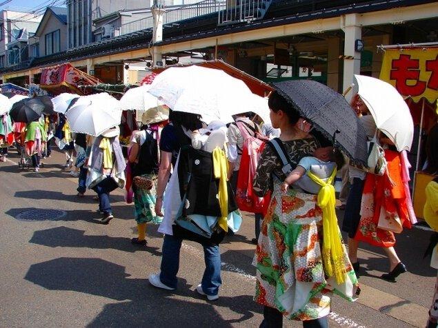 加茂まつり(青海神社春季祭礼)