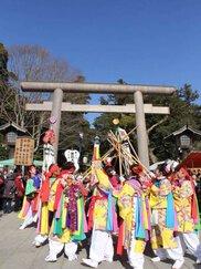 鹿島神宮 祭頭祭