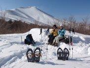 スノーシュー ハイキング 軽井沢「スモールピークハント+滝見ウォーク」