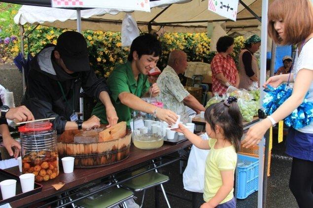 芝川日和「梅の里」稲子祭り