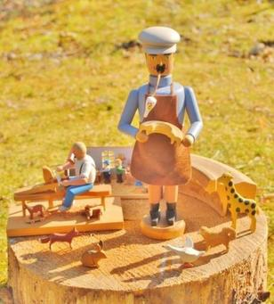 エルツおもちゃ博物館・軽井沢 開館20周年記念特別展 ドイツ・エルツ地方の工房をめぐる旅(前期)