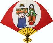 ひな人形の凧展