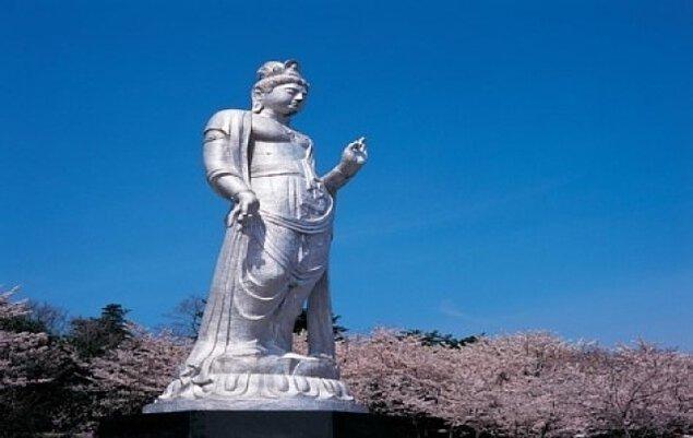 【桜・見ごろ】眉山治山祈念公苑
