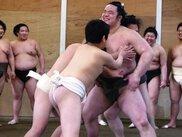 相撲部屋との交流イベント・浅香山部屋