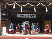 越木岩神社 椿まつり