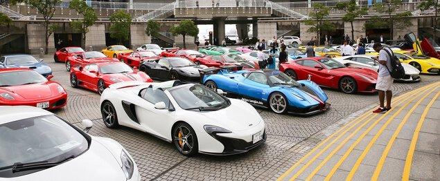 スーパーカー・フェスティバル in 東京ドームシティ