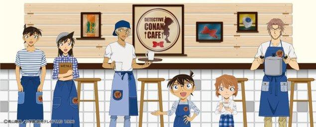 名探偵コナンカフェ2018(名古屋会場)