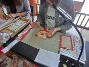 草木染 オリジナル朱印帳つくり(3月)二日間コース