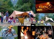 KOMPASキャンプ in 千本高原キャンプ場