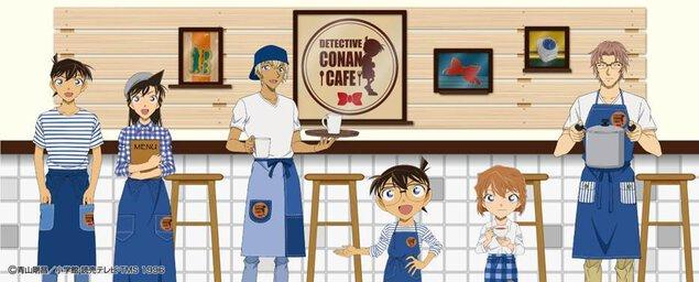 名探偵コナンカフェ2018(仙台会場)
