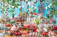 「いちごに恋するガーデンパーティー」~ストロベリーデザートブッフェ~