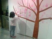 みんなで桜を咲かそうワークショップ!