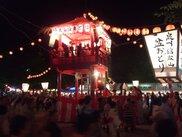 伝承文化公演「信太山盆踊り」「南横山篠踊り」