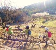 春の山で遊ぶ 「MTBトレイル体験ライド」碓氷 軽井沢 マウンテンバイクツアー