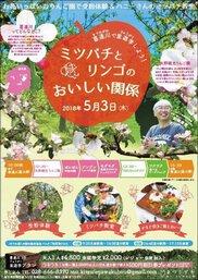 喜連川で里遊学(りゅうがく)しよう!「ミツバチとリンゴのおいしい関係」