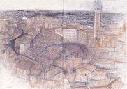 石本正 素描展「イタリアの思い出」