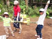 青竹で手作りバウムを焼こう! ~わくわく親子スイーツキャンプ~