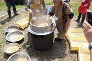 農に学べ!遊べ!桃源郷に包まれて「MY味噌づくり教室」