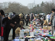 川越水上公園フリーマーケット(5月)