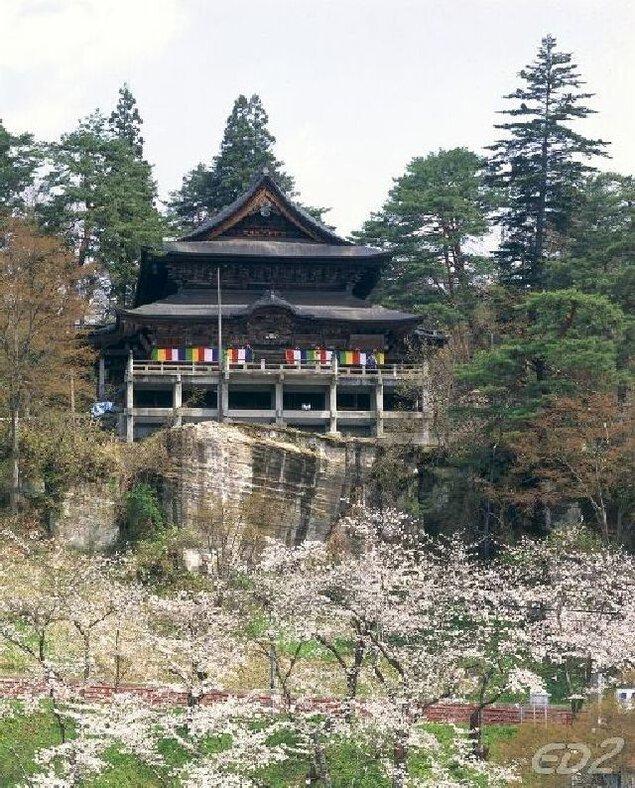福満虚空藏菩薩 圓藏寺の桜