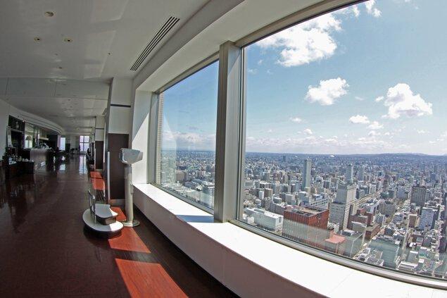 【営業時間短縮】JRタワー展望室 タワー・スリーエイト