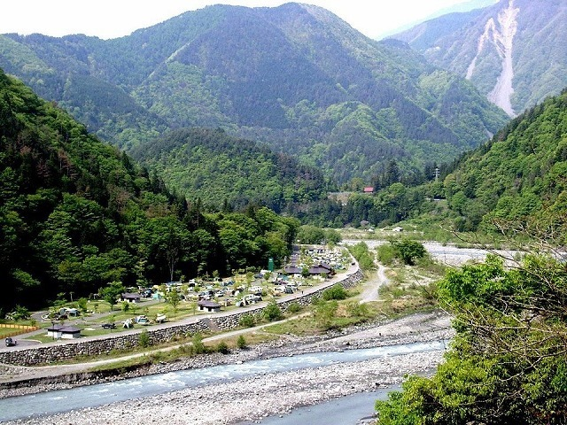 早川町オートキャンプ場