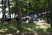 わかさぎ公園浜台キャンプ場・オートキャンプ場