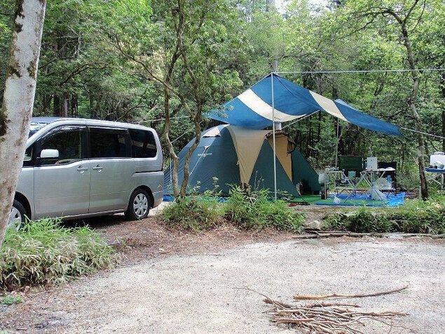 根の上高原保古の湖キャンプグラウンド