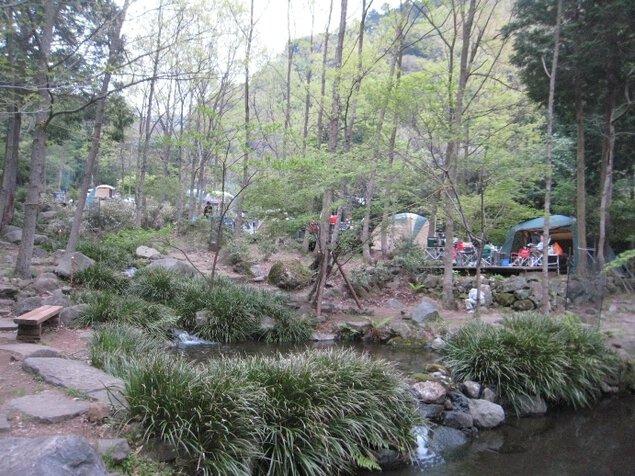 沼津市戸田はかま滝オートキャンプ場