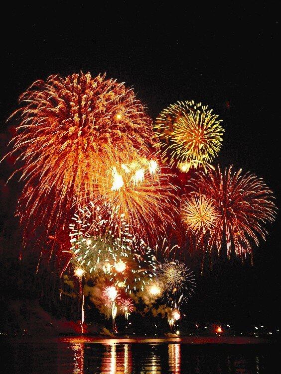 萩夏まつり  萩・日本海大花火大会
