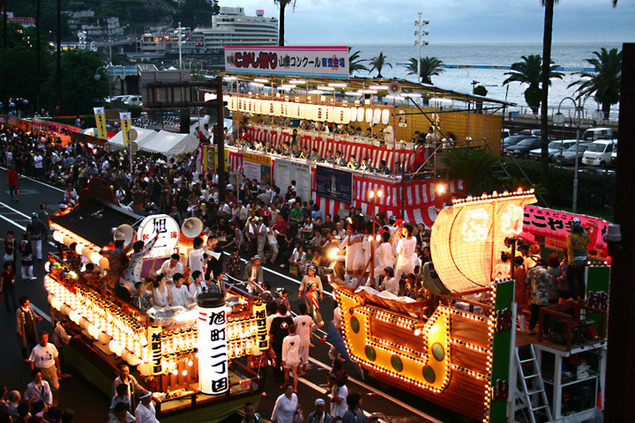 熱海こがし祭り第49回山車コンクール