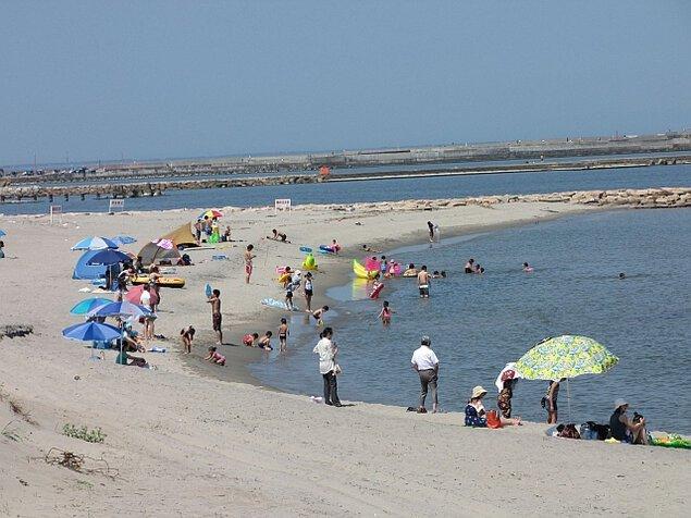 島見浜海水浴場