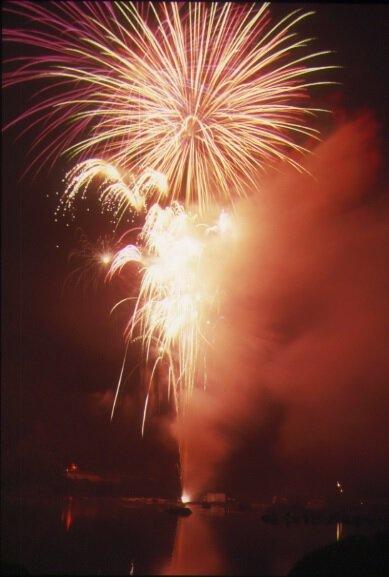 津和野町夏まつり にちはら鮎まつり花火大会