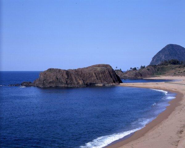 立岩・後ケ浜海水浴場