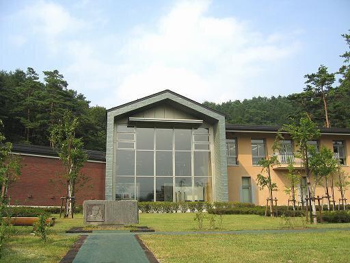 四季の杜おしの公園 岡田紅陽写真美術館・小池邦夫絵手紙美術館
