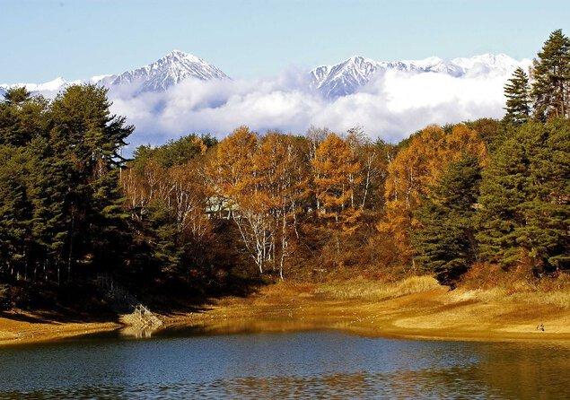 美鈴湖の紅葉
