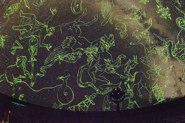 石川県柳田星の観察館 満天星のプラネタリウム パンドラ