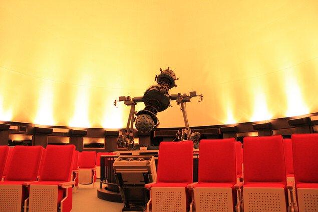 大塔コスミックパーク「星のくに」の大塔プラネタリウム館
