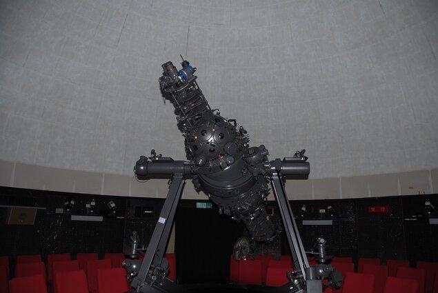 鹿児島県立博物館のプラネタリウム