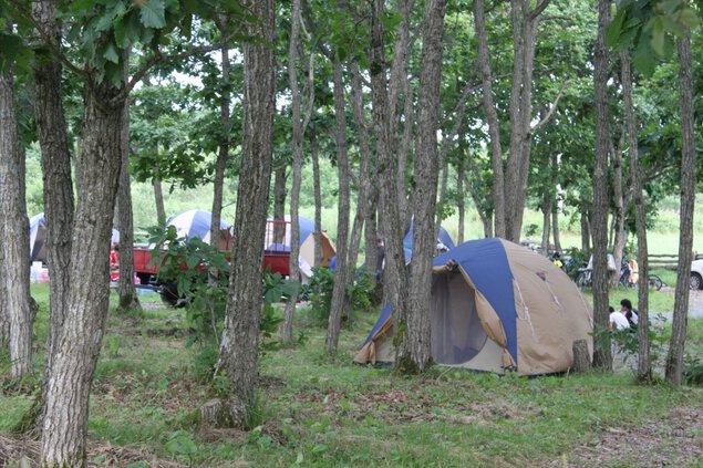 築拓キャンプ場