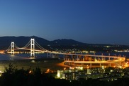 祝津公園展望台の夜景