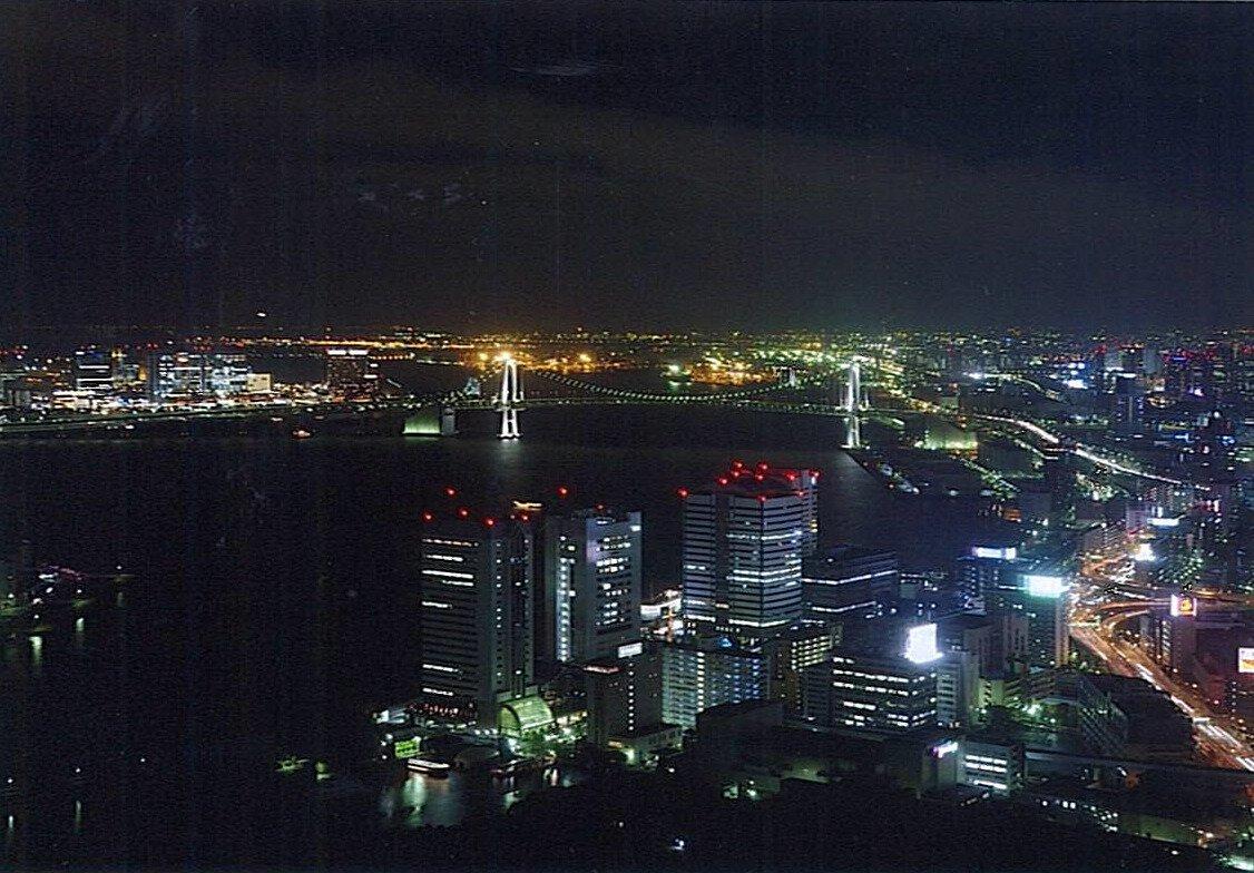 カレッタ汐留の夜景