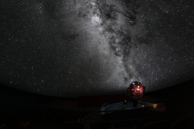 鹿児島市立科学館の宇宙劇場