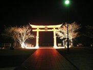 宮島SA(下り線)の夜景