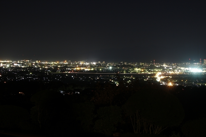大森山公園の夜景
